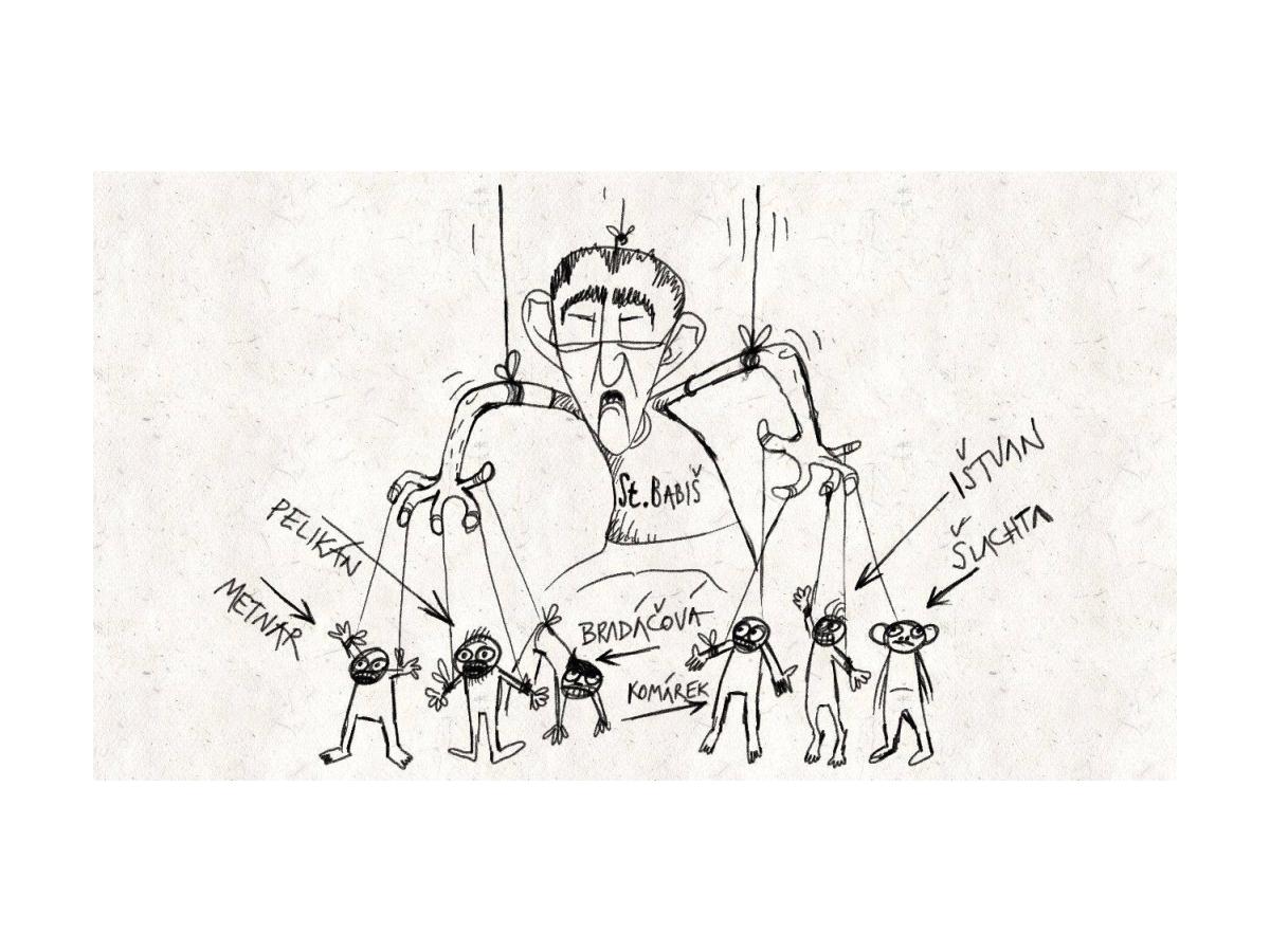 karikatury Marek Setíkovský